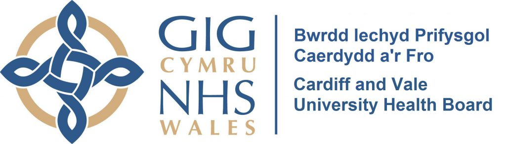 Cardiff & Vale University Health Board logo