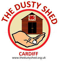 The Dusty Shed logo