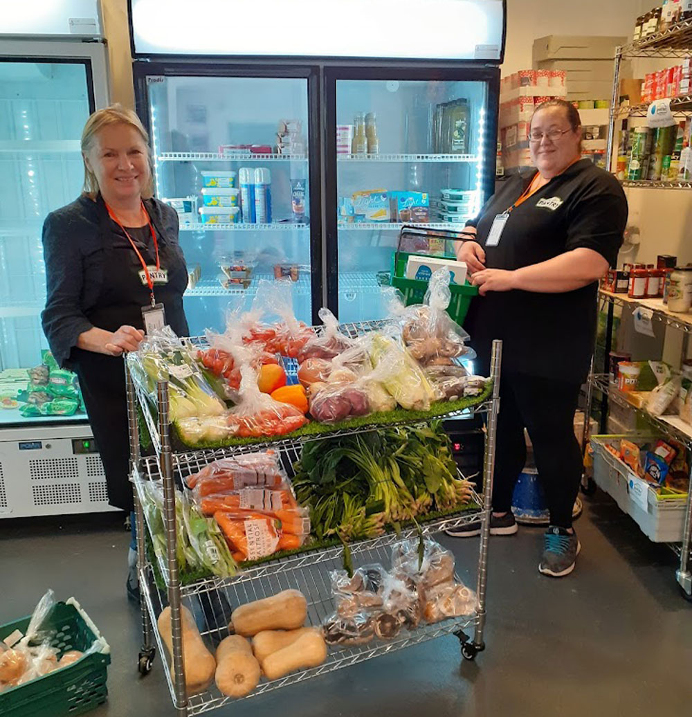 ACE Dusty Forge Pantry Volunteers