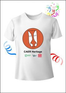 Caer Heritage Project White T-Shirt