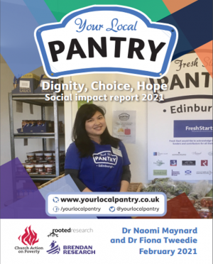 Pantry Impact Report Cover 2019-20