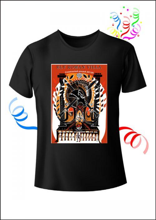 Caer Heritage Project Black T-Shirt
